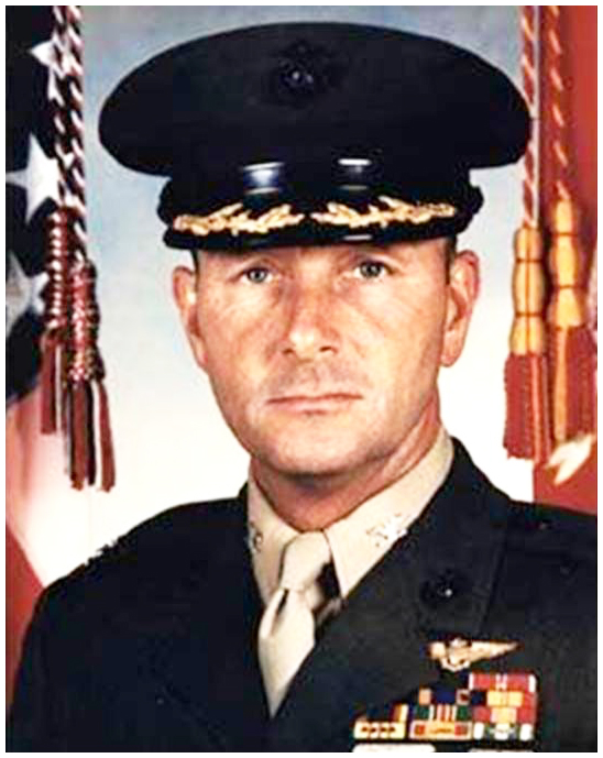 Col. James E. Sabow, USMC, murdered in his own home because of what he knew